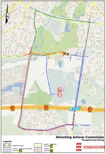 lijnenkaartje Antoon Coolenlaan 10T16075-201-A